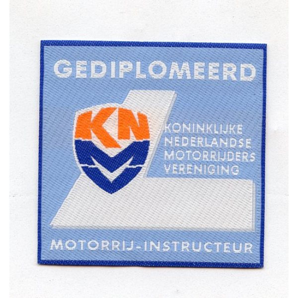 Badge geweven heatseal